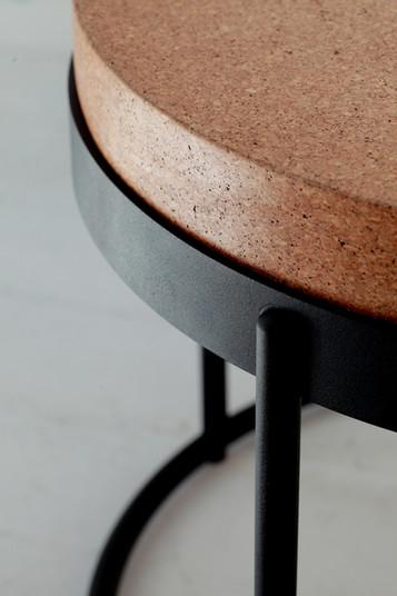 Wiid Design Modern cork side table