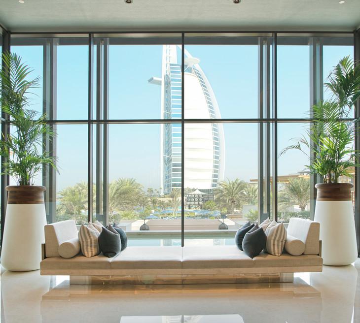 Soma planters at Jumeriah Al Naseem Hotel - Dubai