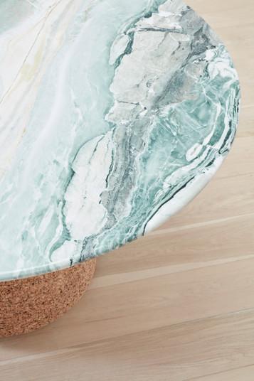 Cork & Marble Tall Table 2