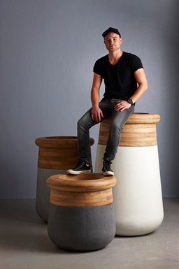 Soma Planters Designer Laurie Wiid.