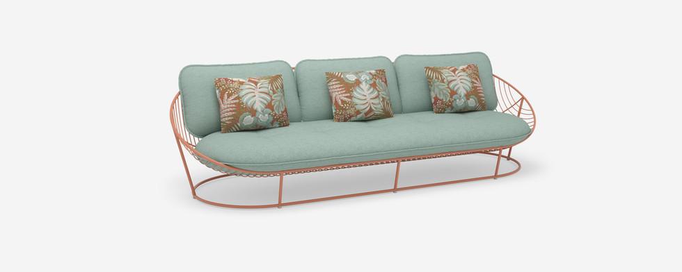 Papa Sun 3 seater sofa