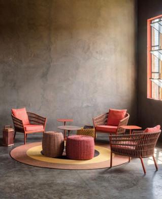 Kauai lounge chair with Marina garden se