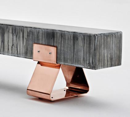 Wiid Design -copper steel benchCo legs.j