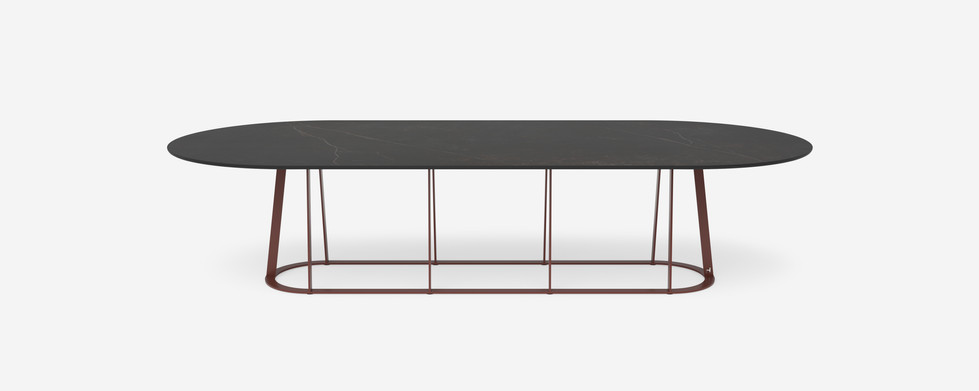 Plat O table - 12 seater