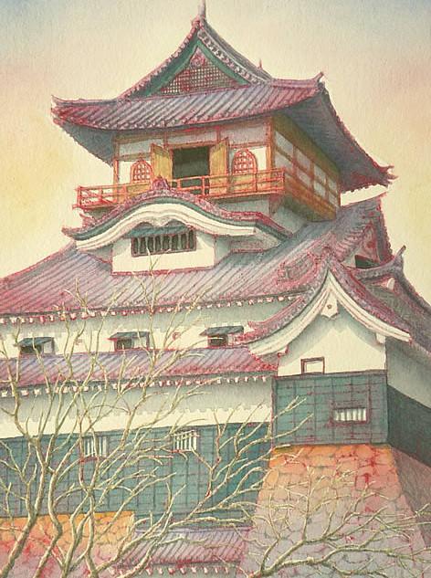 『犬山城』 No.104