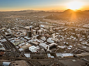 Take a helicopter tour of Downtown Tucson! SighBook your aerial adventure today!