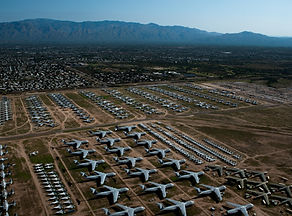 """Take a helicopter tour of the famous aircraft boneyard """"AMARG"""" at Davis-Monthan Air Force Base. Book your aerial tour today!"""
