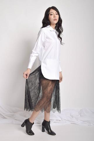 Yverra Poplin Cotton Dress