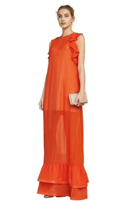 Audrianna Ruffled Dress