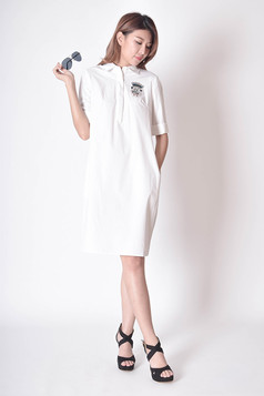 Sohvia Cotton Shirtdress