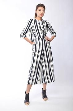 Kanda Striped Suit