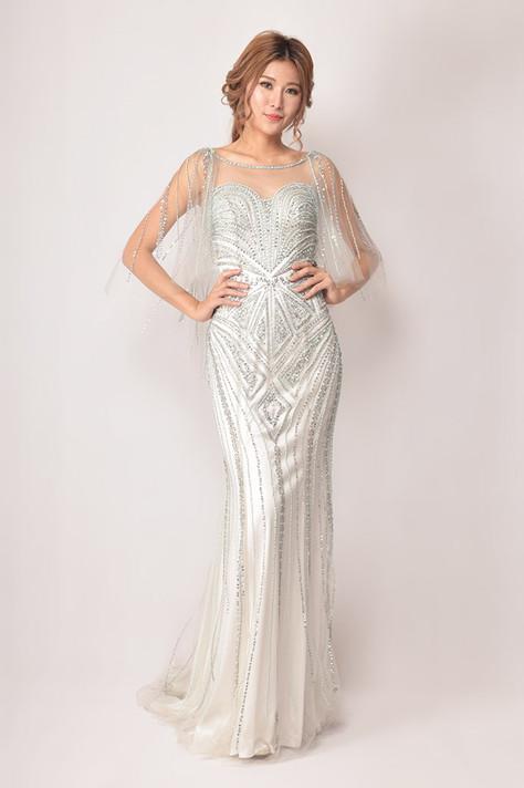 Raphael Chiffon Dress