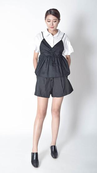 Justine Striped Short
