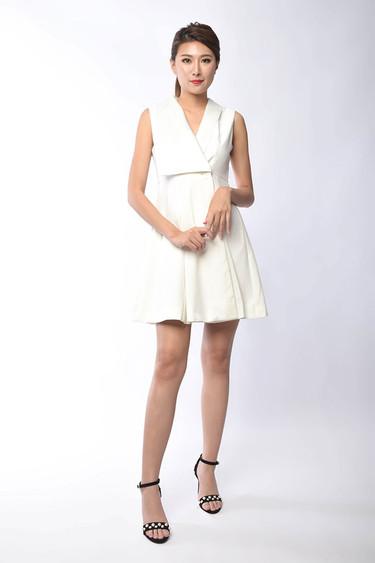 Deirdre Sleeveless Midi Dress