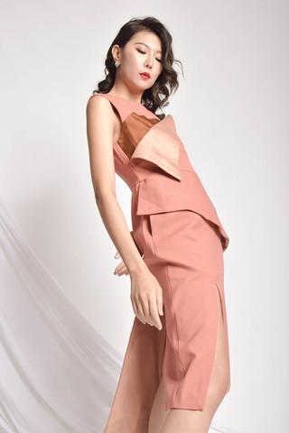 Frevy Split Dress