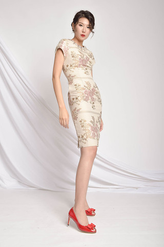 Siloy Embroidered Cheongsam