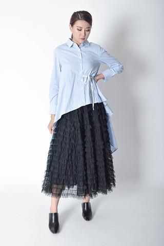 Saundra Long Shirt Dress