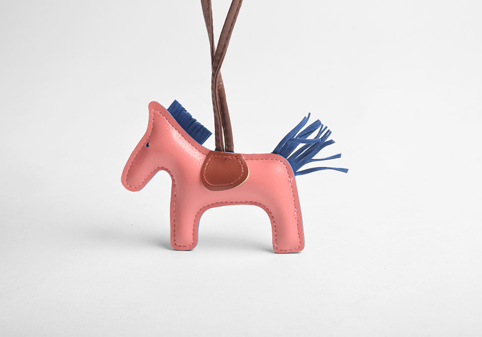 Leather Horse Bag Charms