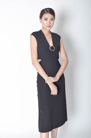Idella Cutout Dress