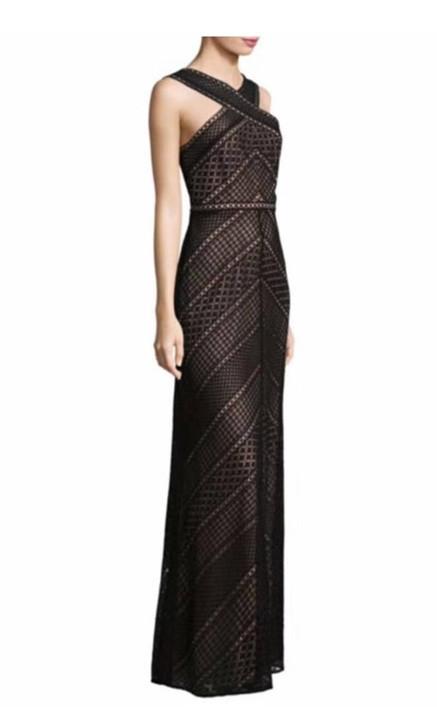 Bernadette Halter Lace Gown
