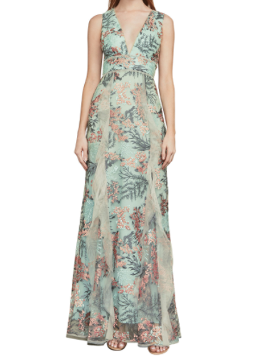 Brea Enchanted Embroidered Gown