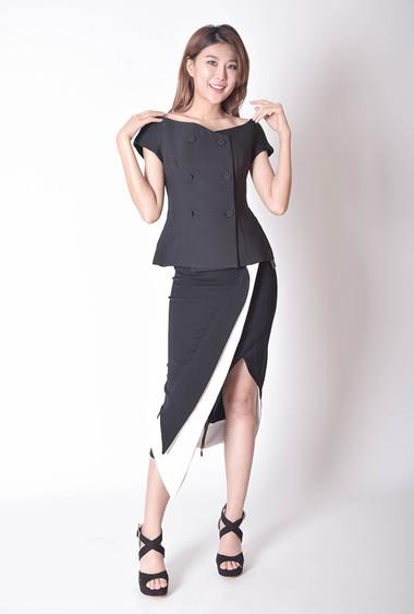 Kadri Asymmetric Skirt