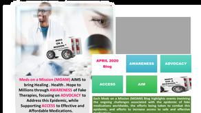 Meds-on-a-Mission Blog: April 2020