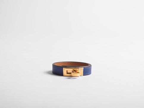 Kelly Double Tour Leather Bracelet