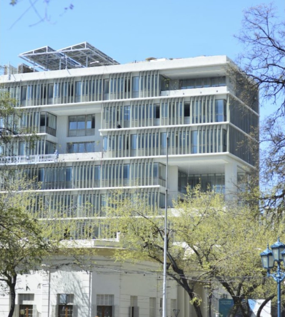 Nuevo Anexo Legislatura de Mendoza