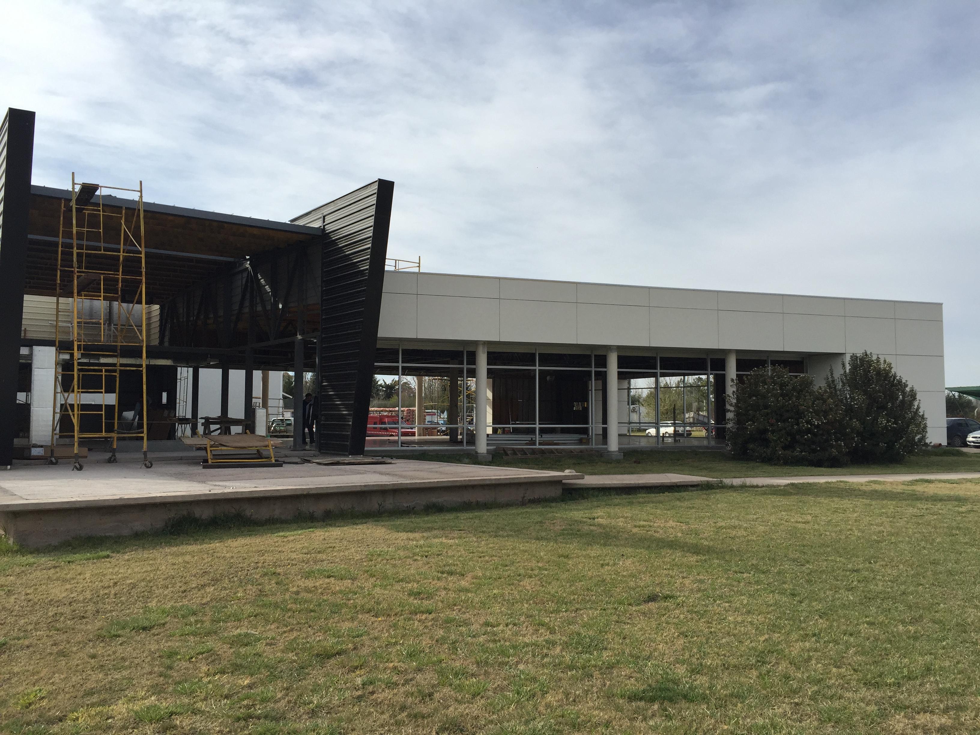 Nuevas Oficinas Monteverdi Construcc