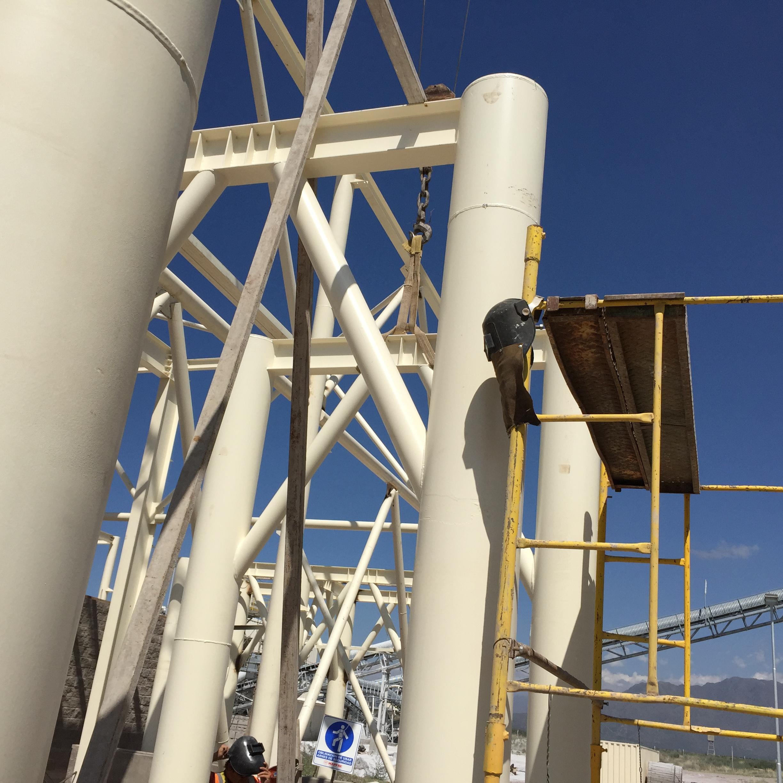 Estructura soporte silos