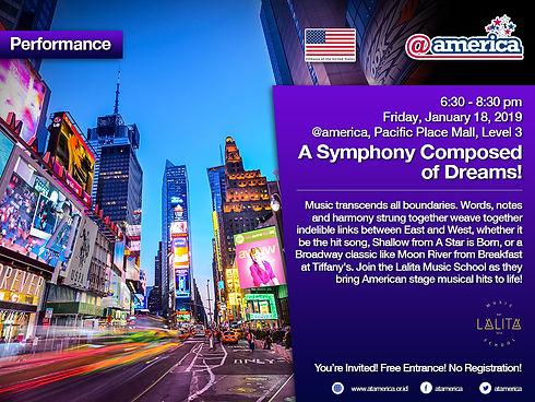 18 January - A Symphony Composed of Drea