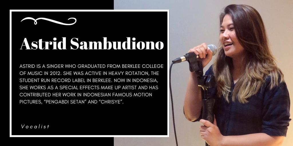 Special guest, Ms. Astrid Sambudiono