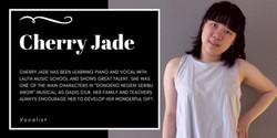 Cherry Jade, Lalita Music School's piano & voice student