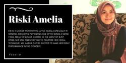 Ms. Riski Amelia, Lalita Music School's voice student
