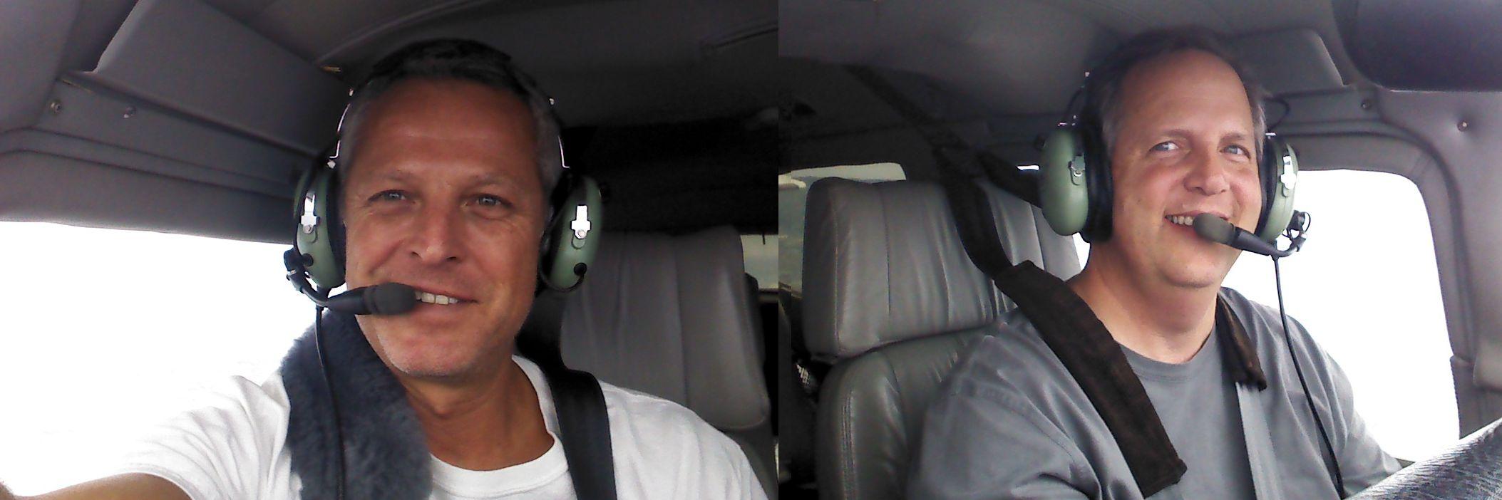 Flying with Geoff Klotz