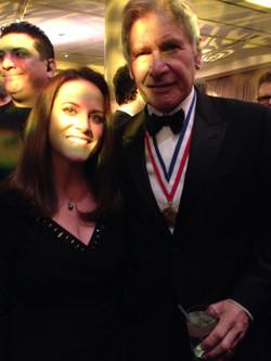 Lynn Schiff & Harrison Ford