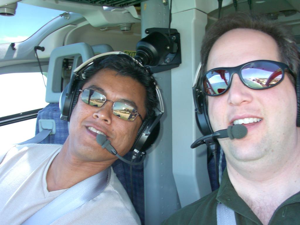 Flying with Jim Pasa