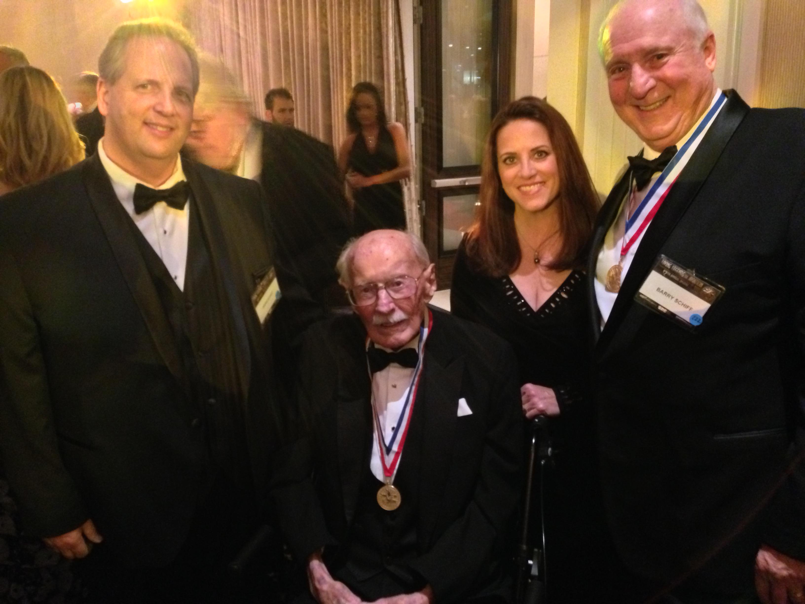 Bob Hoover, Lynn Schiff, Barry Schiff