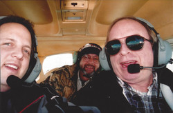 Flying with Charlie Kelly