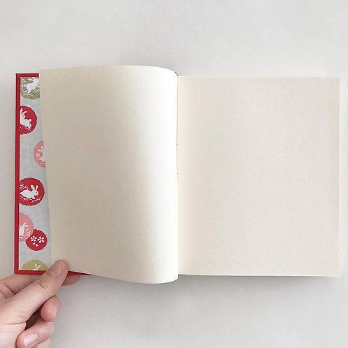 Handmade Journal / Red