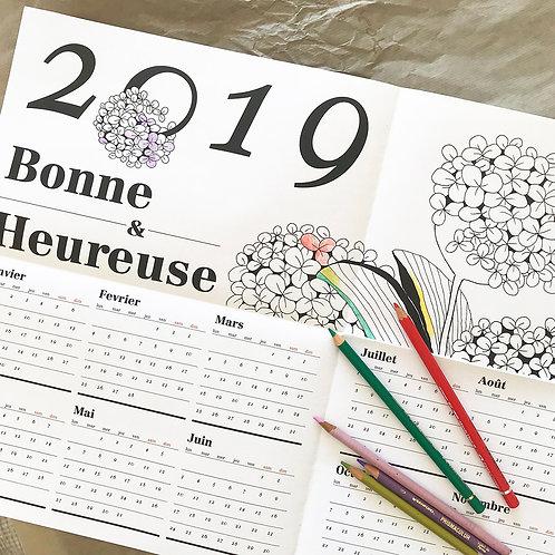 Calendar Poster 2019
