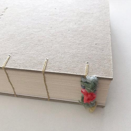 Handmade Journal / dans le jardin
