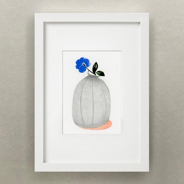 Plante Journal / Blue Flower