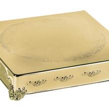 $25 Gold Square Cake Riser