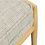 "Thumbnail: Fritz 55"" Fabric Bench - Kardiel"
