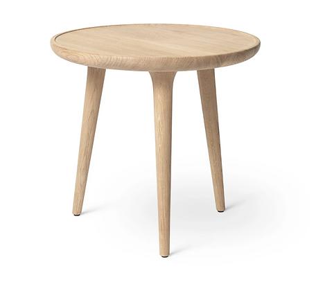 Accent Side Table - Matte Oak