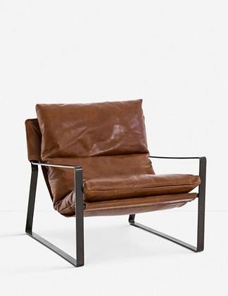 Marlyne Leather Chair - Lulu & Georgia