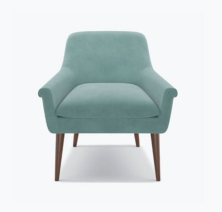 Aqua Cocktail Chair - The Inside
