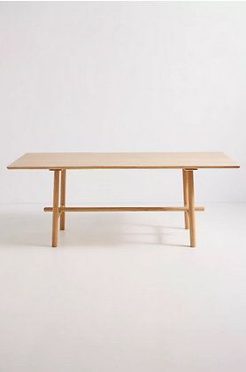Oak Profile Table - Anthropologie
